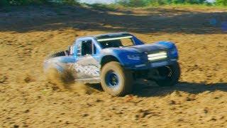 Traxxas Unlimited Desert Racer | New Graphics and LED Light Kit