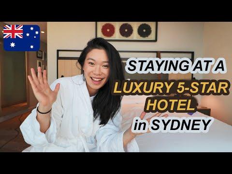 STAYING IN A LUXURY 5 STAR HOTEL IN SYDNEY   AUSTRALIA TRAVEL ACCOMMODATION 2020