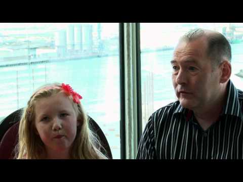 Children's MRI Scanner Appeal - interview with Millie and David Slater