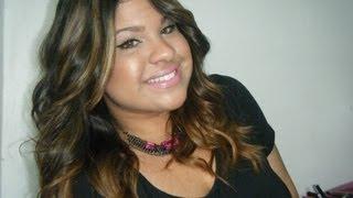 """Tutorial:Como hacer el """"Ombre Hair"""" & Highlights,Rayitos o Mechas  de Color Caramelo/Miel!*"""