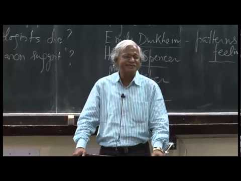 Mod-01 Lec-01 What is sociology?