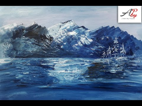 Oil Painting Landscape|Landscape Painting|Landscape Tutorial