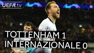 TOTTENHAM 1-0 INTERNAZIONALE #UCL HIGHLIGHTS