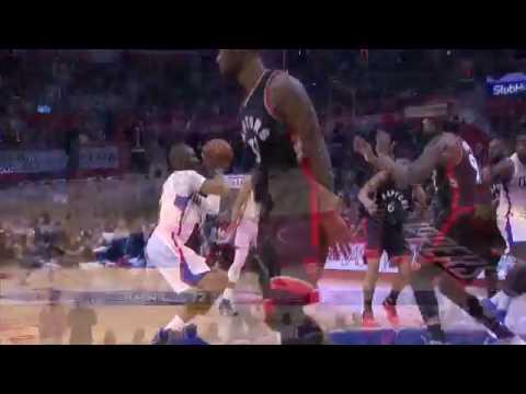 DeAndre Jordan's Monster Dunk   Raptors vs Clippers   November 21, 2016   2016 17 NBA Season