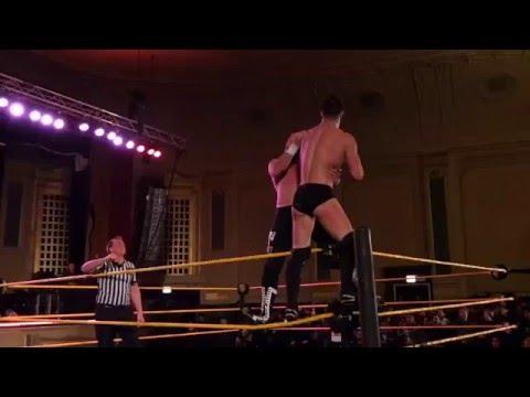 WWE NXT Live Event Chicago 1/16/16 Finn Balor vs Sami Zayn NXT Championship