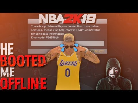 i got booted offline by my own teammate in nba 2k19 (BOOTER SOLD ME THEN FRIED MY ROUTER)