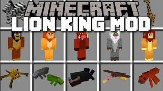 Minecraft LION KING MOD / LONG LIVE THE KING!! Minecraft
