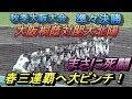 春三連覇へ赤信号!?3時間半の激闘を20分で見る!大阪桐蔭VS関大北陽!凄まじすぎる…