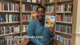 Tiffany Harris Loves Her Library
