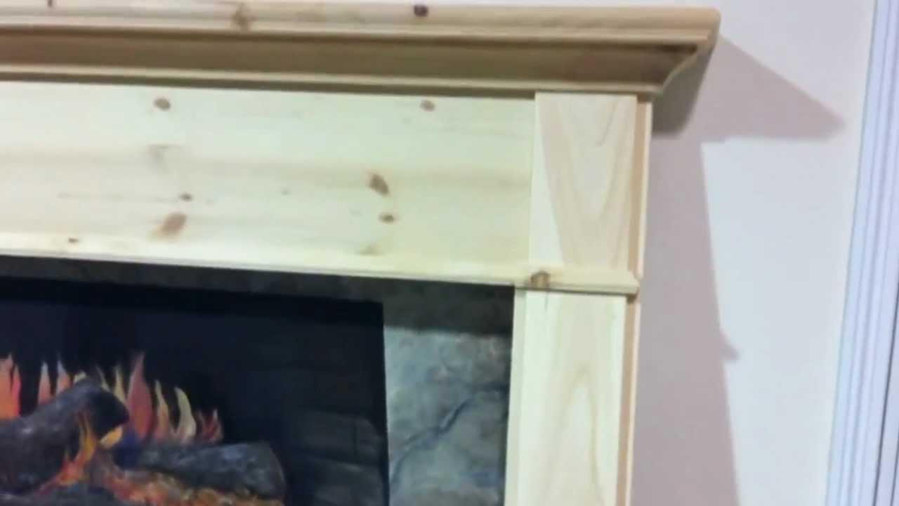 Arts and crafts mantel - Arts Crafts Style Pine Fireplace Mantel