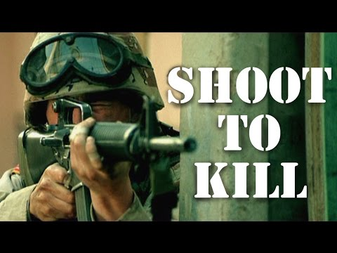 Shooting to kill - how many men can do this?