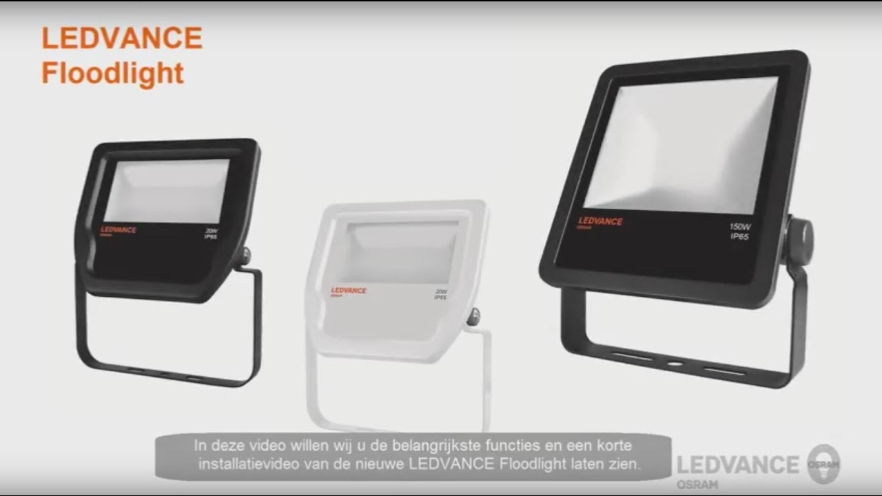 new product b7bbf 4a3d9 LEDVANCE - Floodlight