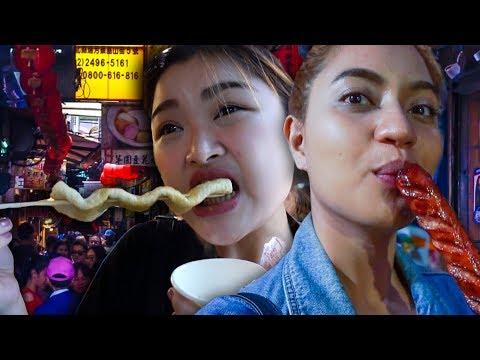 FOOD TRIP SA TAIWAN!! with Arah Virtucio // Rozel Diary #79