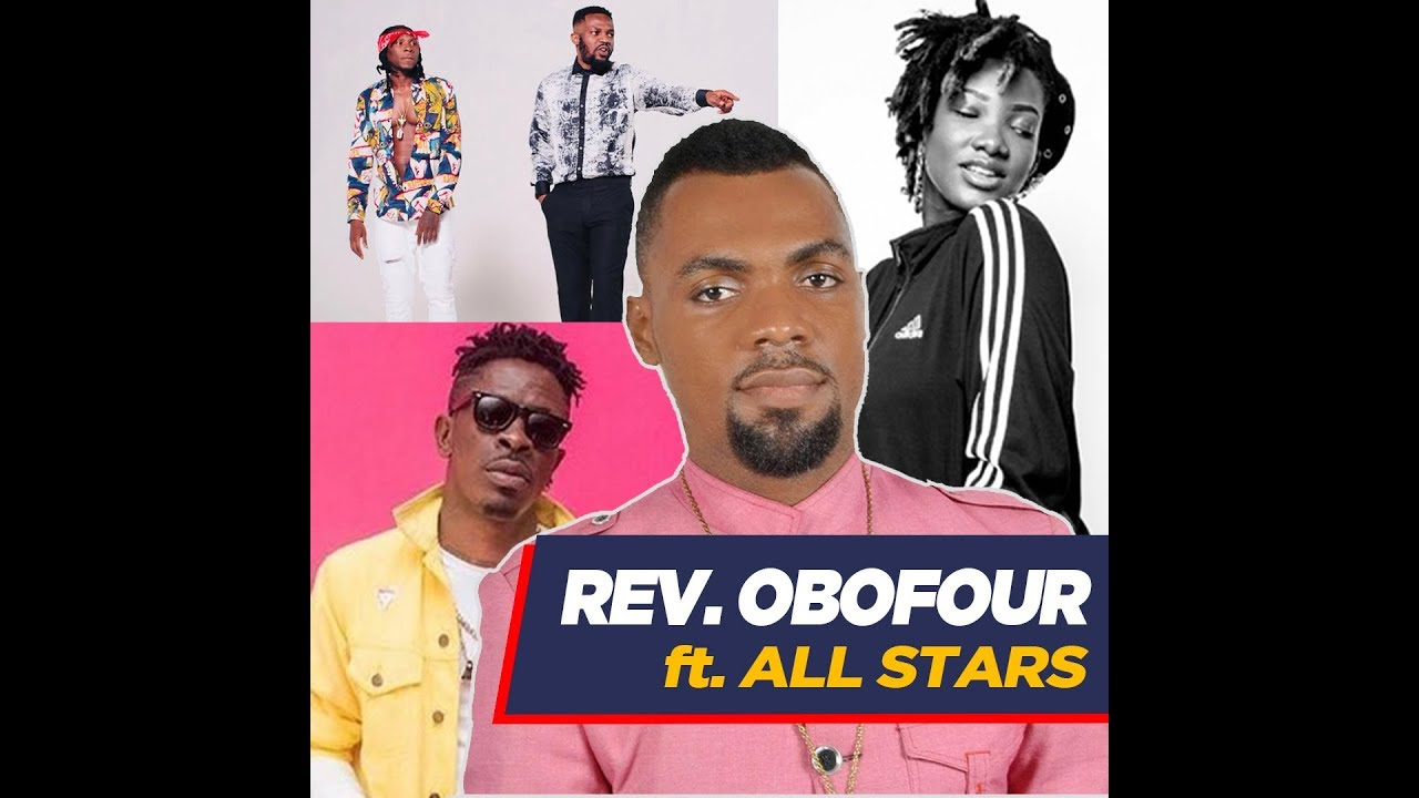 Rev  Obofour Performs Shatta Wale, Ebony And R2bees' Songs In Church