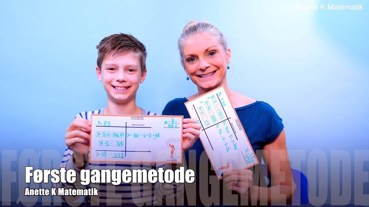 Første Gangemetode / Anette K Matematik