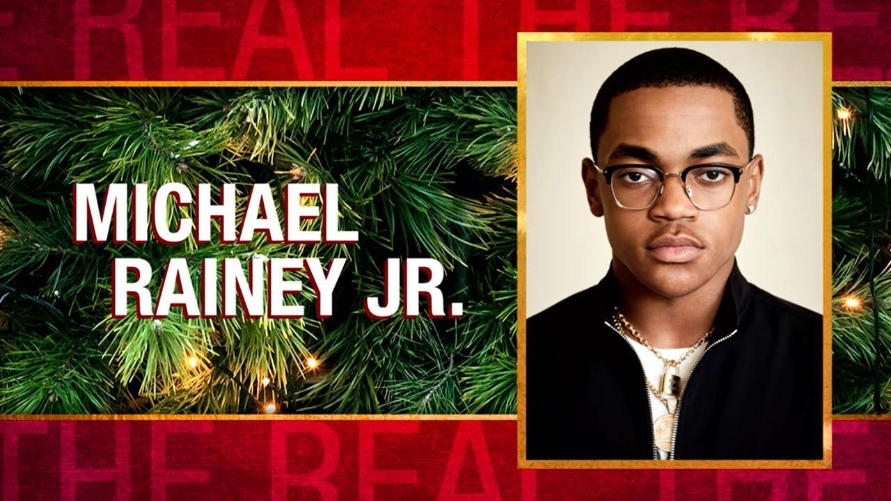 Wednesday on 'The Real': Michael Rainey Jr., Ricardo Chavira
