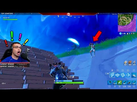 That moment when Fortnite is more scary than a horror game!