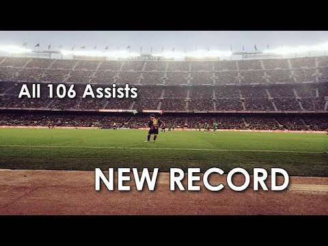 Lionel Messi ● All 106 Assists in La Liga ● NEW RECORD