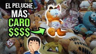 Salvando al SOLDADO GARFIELD / El Peluche MÁS CARO!! - Rapidín en el Arcade