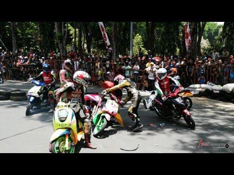 kericuhan road race malili 2017