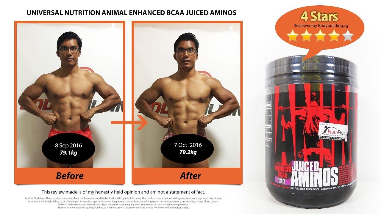 Universal Nutrition Animal Enhanced BCAA Juiced Aminos ...