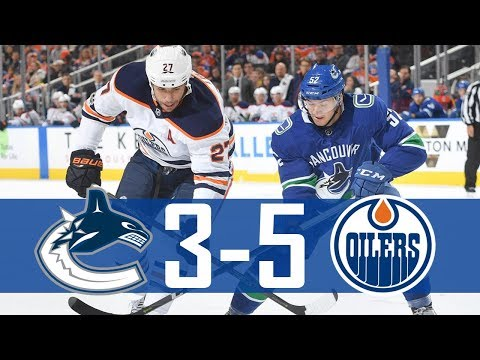Canucks vs Oilers | Pre Season | Highlights (Sept. 22, 2017) [HD]