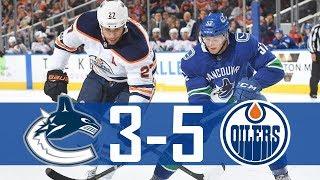 Canucks vs Oilers   Pre Season   Highlights (Sept. 22, 2017) [HD]