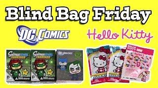 BLIND BAG FRIDAY - Hello Kitty & DC Comics Funko ScribbleNauts