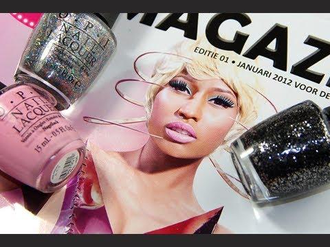 OPI ''Nicki Minaj'' Nail Polish Collection - Review & Swatches