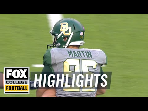 Kansas State vs. Baylor | FOX COLLEGE FOOTBALL HIGHLIGHTS
