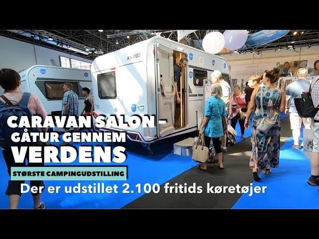Caravan Salon - Gåtur gennem 12 haller på verdens største campingudstilling