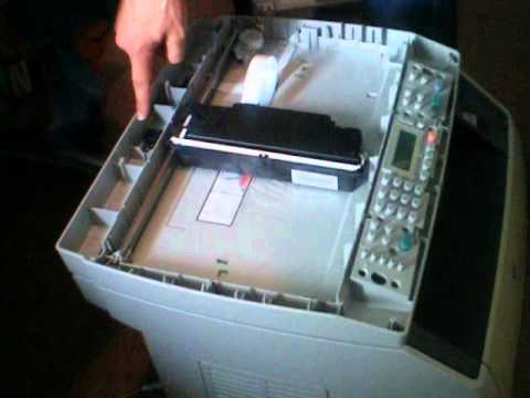 Hp Color Laserjet 2840 Scannerfehler 5 Avi Youtube