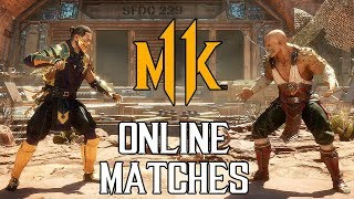 MORTAL KOMBAT 11 - Online Matches Gameplay (PS4 Pro) @ 1440p (60ᶠᵖˢ) ᴴᴰ ✔