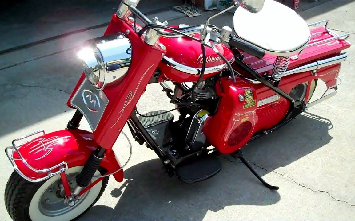 1959 Cushman Scooter Youtube