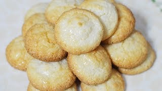 طرز تهیه شیرینی نارگیلی ترد به سبک قنادی | Persian Coconut Sweet Recipe