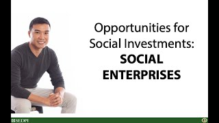 #UsapangPera 196: Opportunities for social investments: Social enterprises