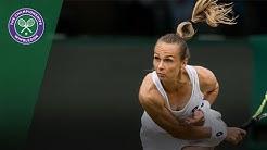 Magdalena Rybarikova v Coco Vandeweghe highlights - Wimbledon 2017 quarter-final