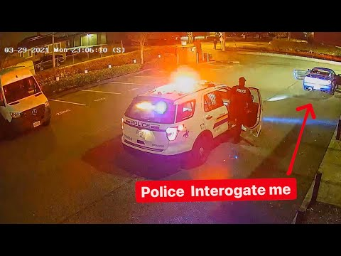 POLICE UNLAWFULLY INTERROGATE ME WHILE I'M ...