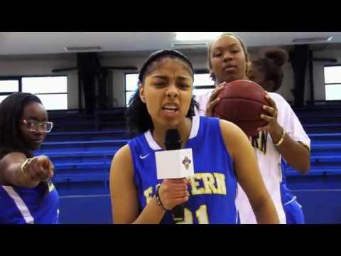 Eastern Women's Basketball #HandClapHoopla