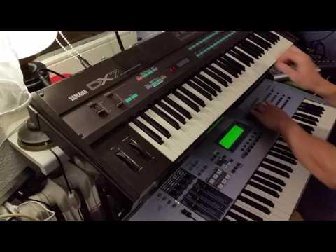 Laserdance - Tip to Destroy LIVE COVER Yamaha Motif ES & DX7