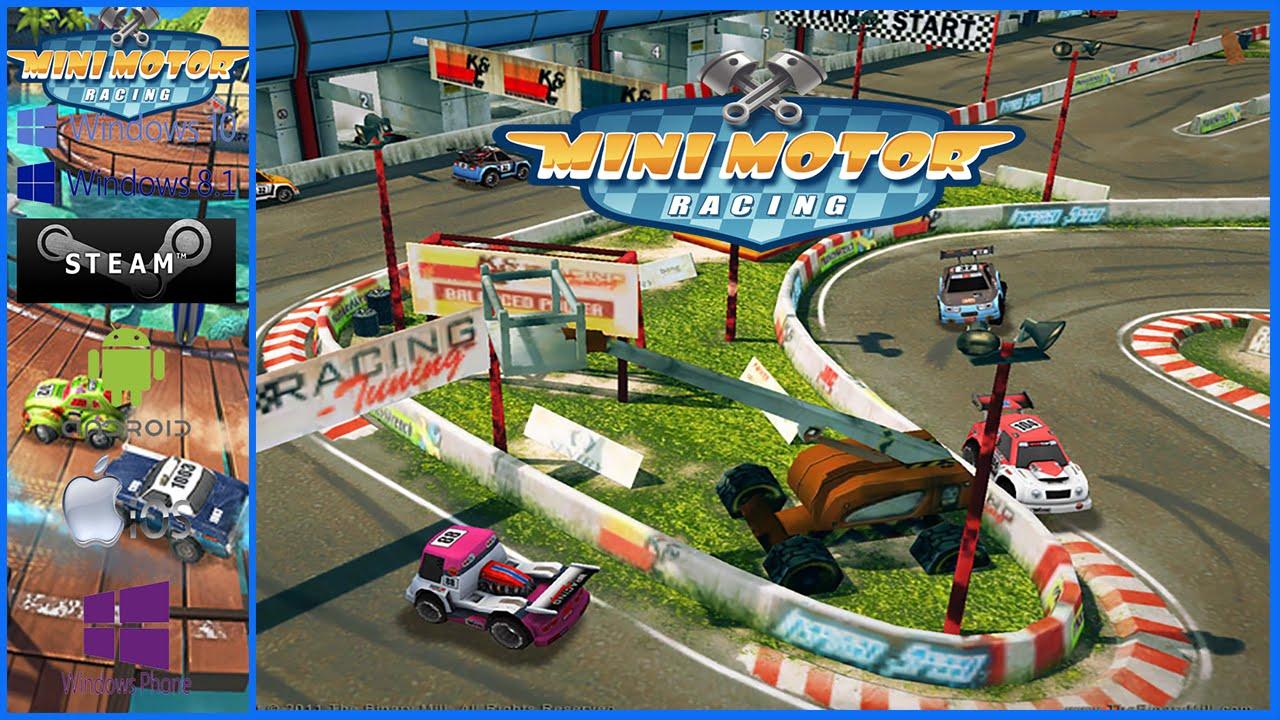 Mini Motor Racing Windows 10 Youtube