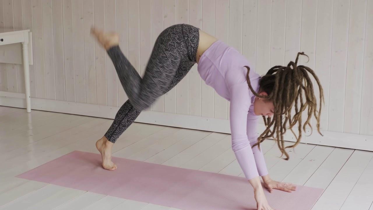YOGA warm up exercise - YouTube