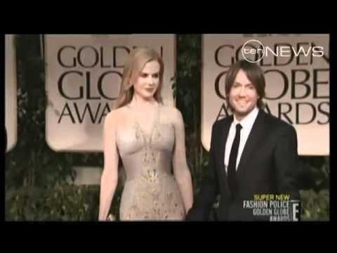 Golden Globe fashion police