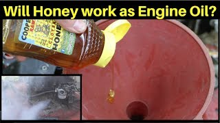 Can you use Honey as Engine Oil?  Let's find out!