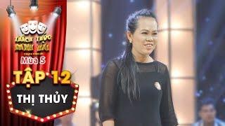 Thách thức danh hài 5   Tập 12: Trấn Thành khoái chí thị phạm cho thí sinh này dù chưa đến phần thi