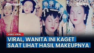 Wanita Ini Tak Lihat Cermin Karena Pamali Waktu Makeup Nikah, Hasilnya Bikin Kaget