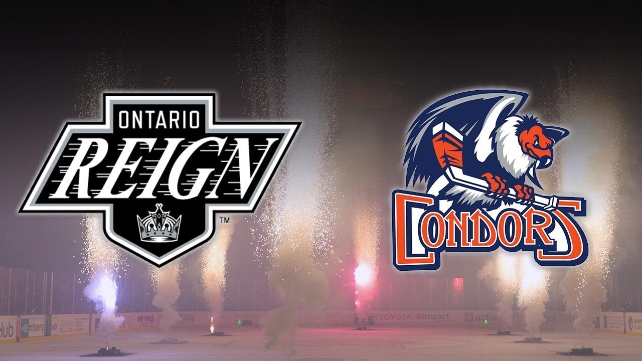 AHL Bakersfield Condors 6 at Ontario Reign 5 YouTube