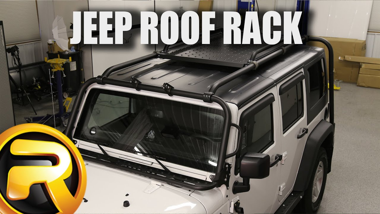 How to Install Kargo Master Jeep Congo Rack - YouTube