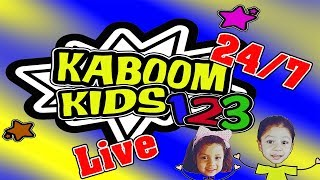 Bible Music for Kids - Full Videos and Episodes by KABOOM KIDS 123 - LIVE 🔴 24/7