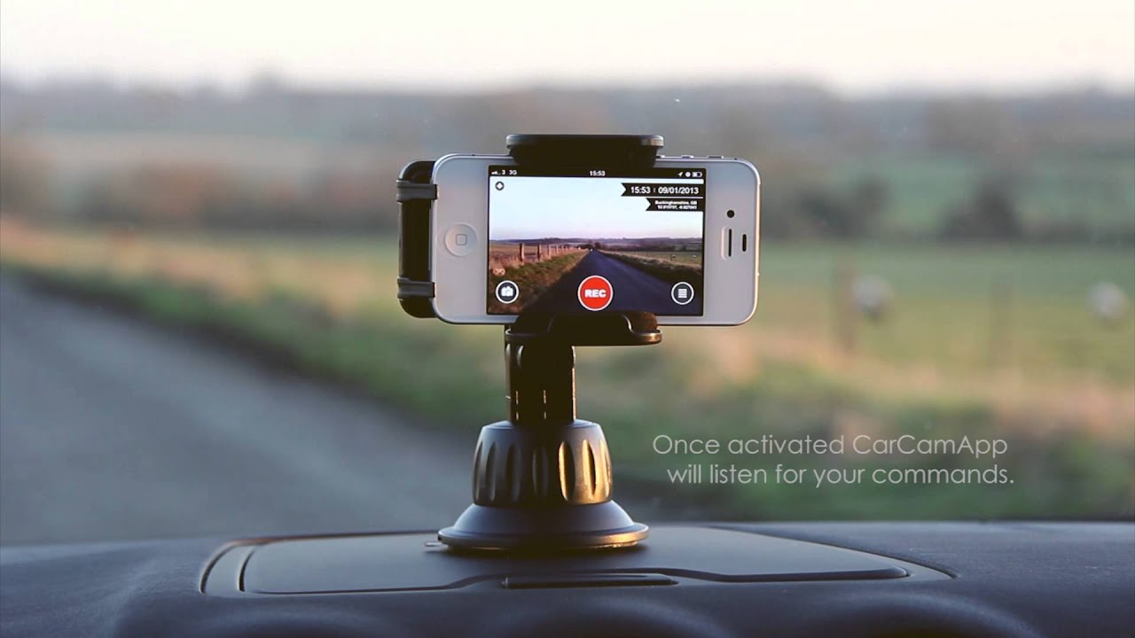 carcamapp iphone car dash cam out now youtube. Black Bedroom Furniture Sets. Home Design Ideas